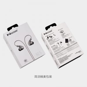 HZ5 ear hifi headset metal bass movement around the ear ear